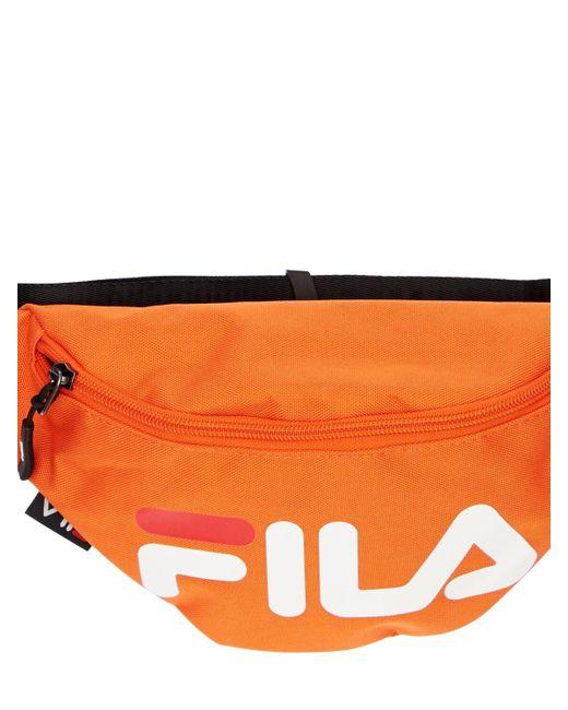Сумка На Пояс С Принтом Логотипа Fila, цвет: Orange