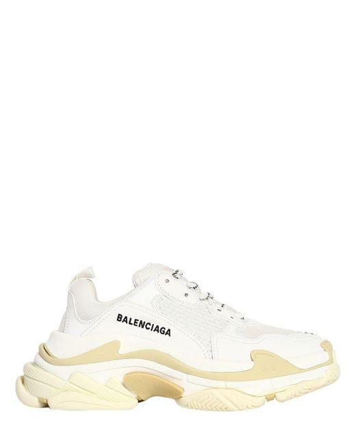 Balenciaga ホワイト トリプル S Triple S スニーカー White