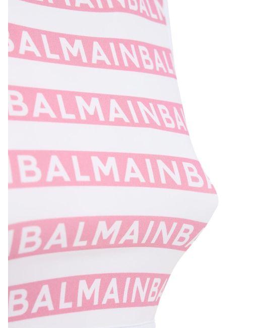 Balmain ロゴビキニ Pink