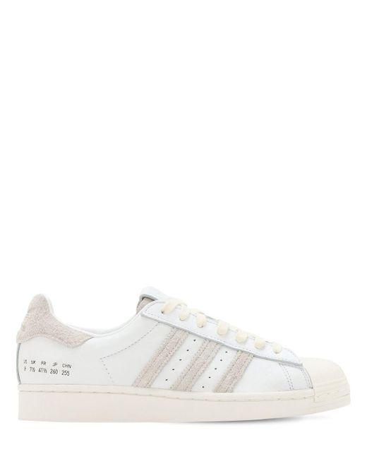"""Кроссовки """"superstar"""" Adidas Originals для него, цвет: White"""