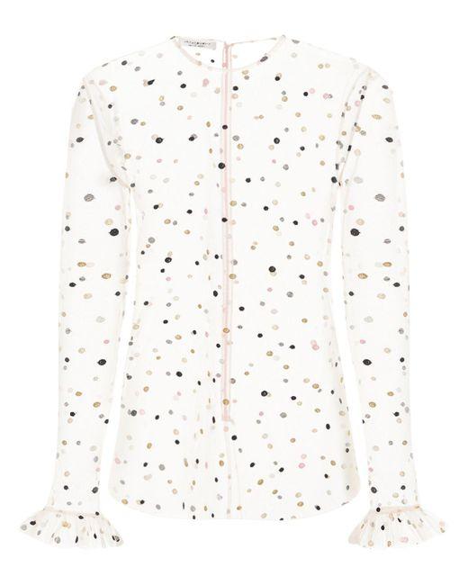 Блуза Из Тюля С Вышивкой Philosophy Di Lorenzo Serafini, цвет: Pink