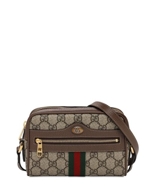 Gucci Ophidia Gg Supreme バッグ Brown