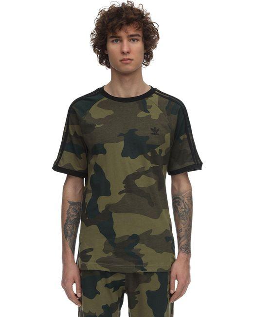 メンズ Adidas Originals Cali コットンジャージーtシャツ Green