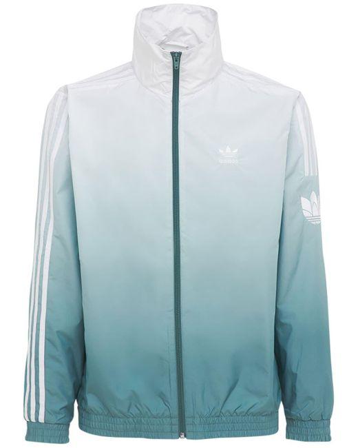メンズ Adidas Originals Primeblu 3d Trefoil 3 Stripes トラックジャケット Blue