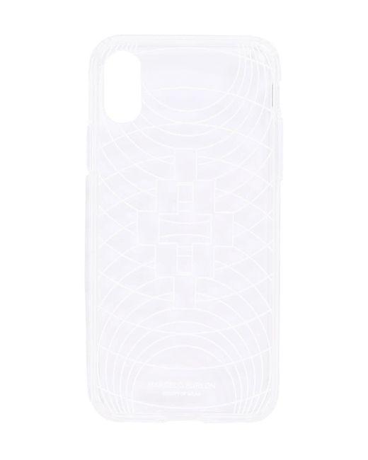 メンズ Marcelo Burlon Iphone X/xs ケース White