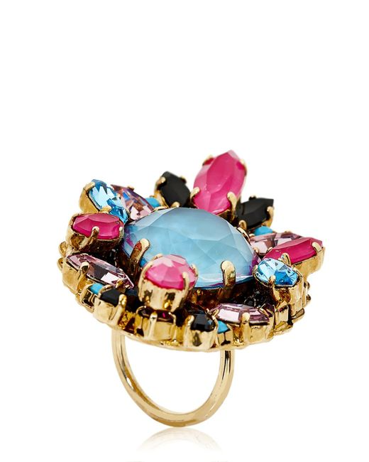 Erickson Beamon | Purple Girls On Film Ring | Lyst