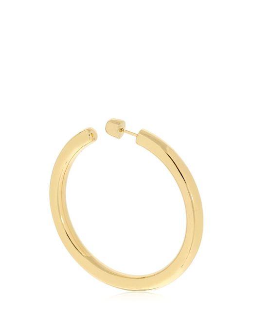 Maria Black - Metallic Ruby 50 Hoop Mono Earring - Lyst