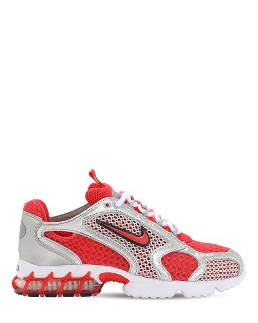 メンズ Nike Air Zoom Spiridon Cage 2 スニーカー Red