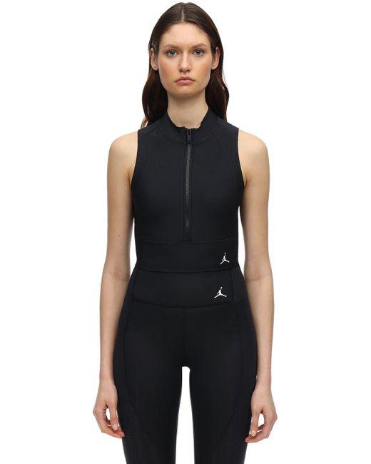 Nike Black Jordan Stretch Crop Top