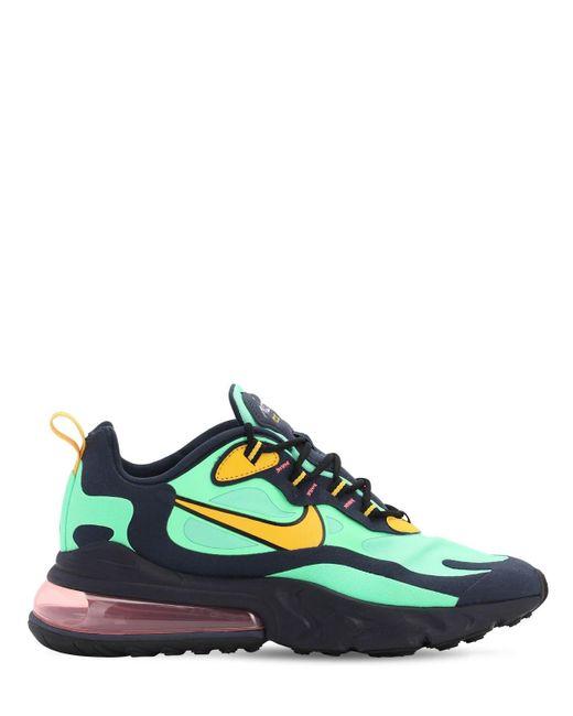 メンズ Nike Air Max 270 React スニーカー Green