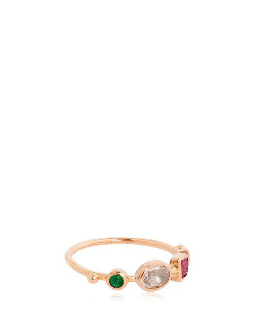 DORETTE | Metallic Simple Ring, 18kt Gold | Lyst