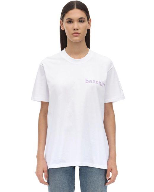 Natasha Zinko コットンtシャツ White