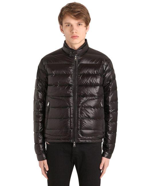Moncler Black Acorus Down Jacket for men