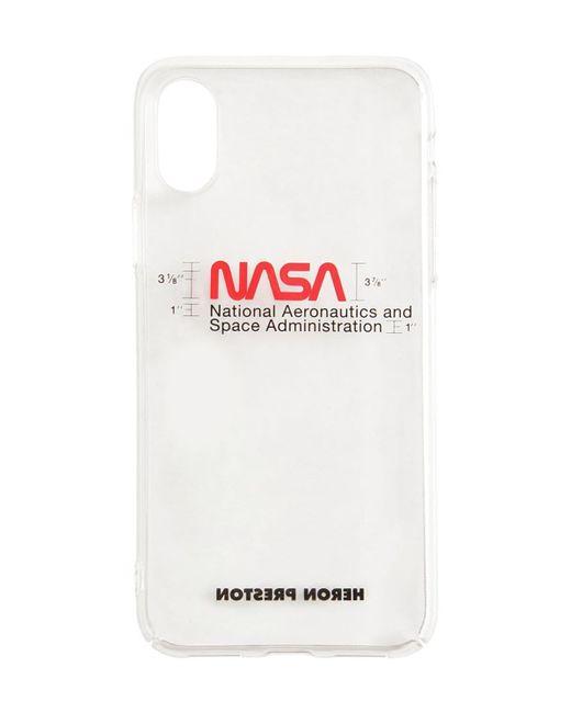 メンズ Heron Preston Nasa Iphone X/xs ケース White