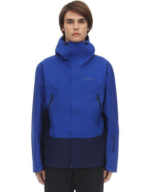 メンズ Marmot Gore-tex Spireジャケット Blue