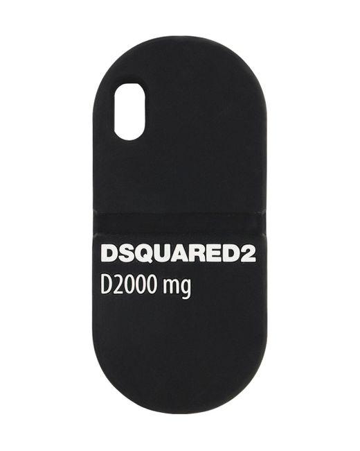 Чехол Для Iphone X DSquared², цвет: Black