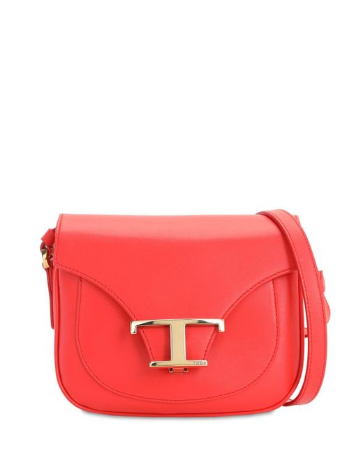 Tod's レザークロスボディバッグ Red