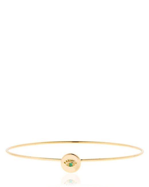 Delfina Delettrez | Metallic Eye Hook Bracelet | Lyst