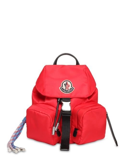 Moncler Mini Dauphine ナイロンバックパック Red
