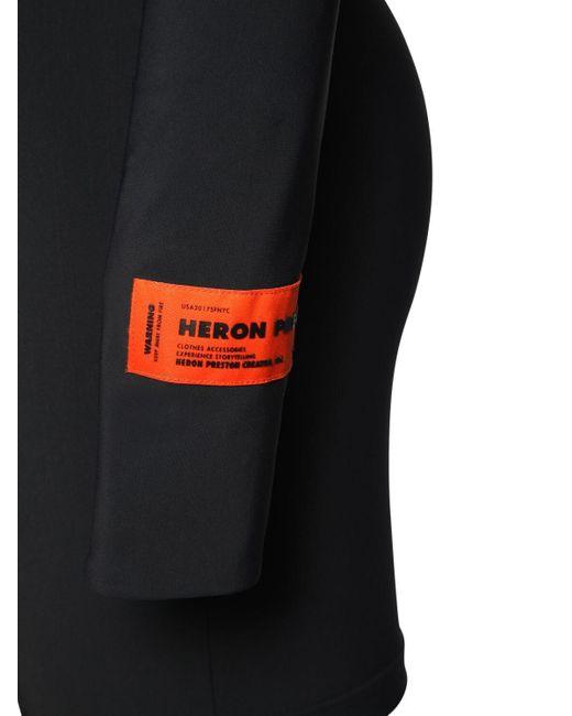 Heron Preston Active ストレッチジャージーロンパース Black