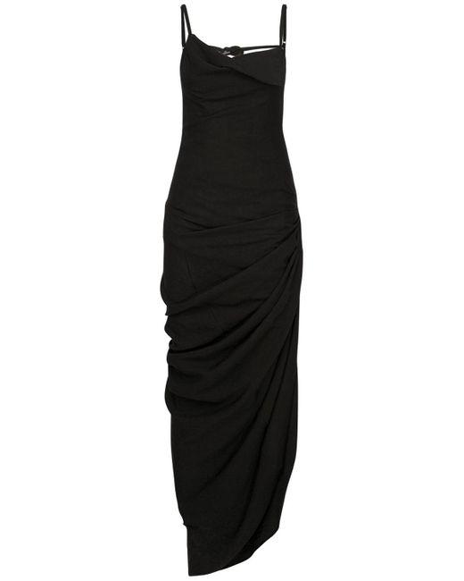 Jacquemus ビスコースブレンドドレス Black