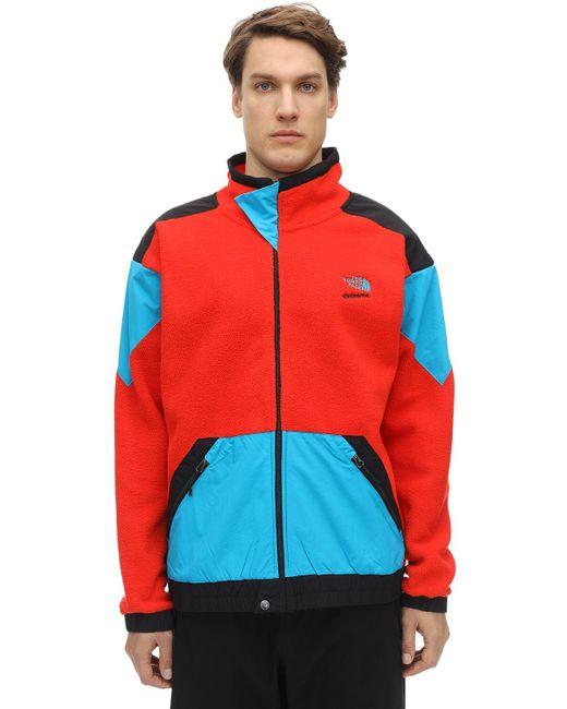 Красная Флисовая Куртка На Молнии 90 Extreme-красный The North Face для него, цвет: Red