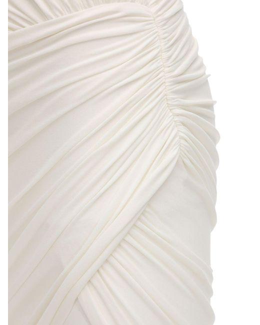 Alexandre Vauthier ストレッチジャージードレス White