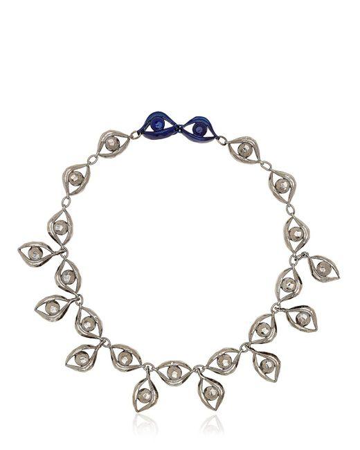 Virzi+de Luca | Metallic Blink Pendant Necklace | Lyst