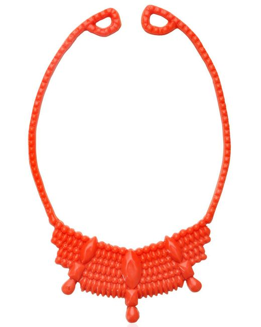Mariah Rovery | Pink Colar Rainha Necklace | Lyst