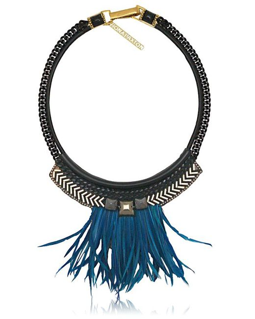 Fiona Paxton | Blue Elsa Necklace | Lyst