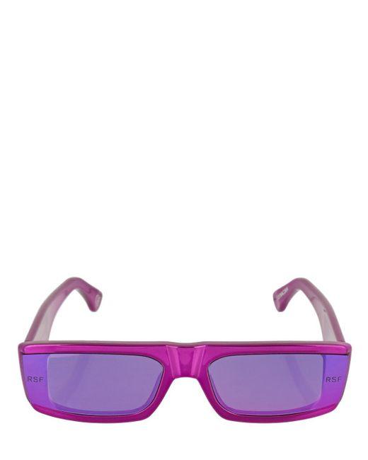 Retrosuperfuture Issimo アセテートサングラス Purple
