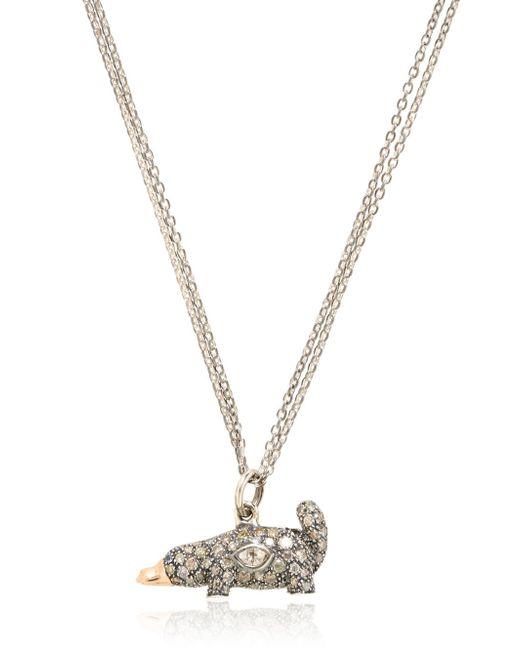 Bibi Van Der Velden | Metallic Platypus Necklace | Lyst
