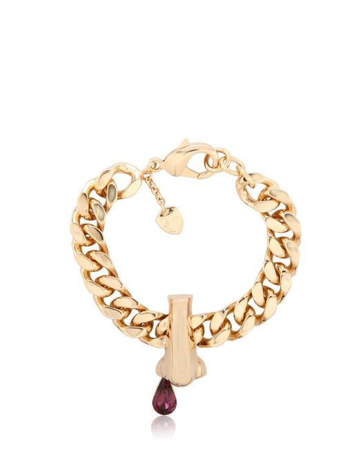 Schield | Metallic 'dripping Nose' Bracelet | Lyst