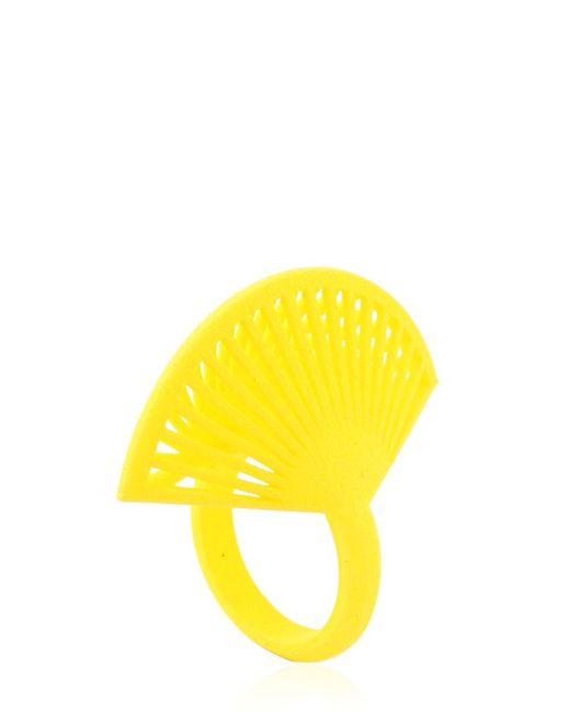 Vojd Studios | Yellow Phase Fan Ring | Lyst