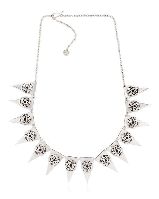 Meadowlark | Metallic Layered Necklace | Lyst