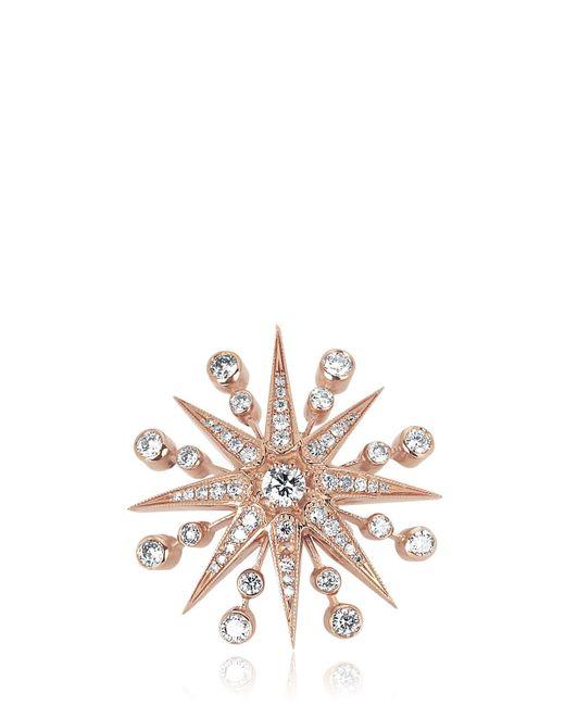 Colette | Pink Med Star Mono Earring | Lyst