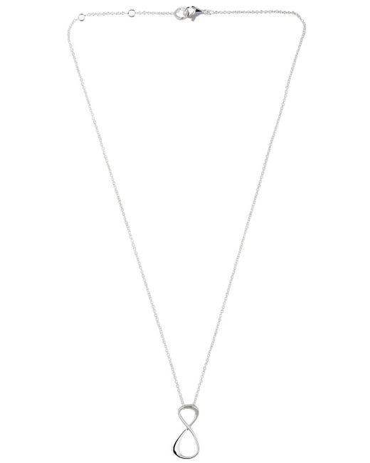 Montblanc   Metallic Infinity Pendant Necklace   Lyst