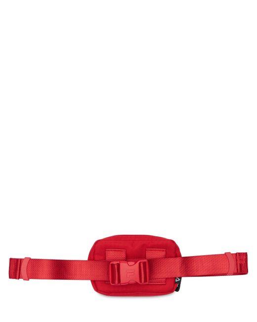 Сумка На Пояс С Логотипом Fila, цвет: Red