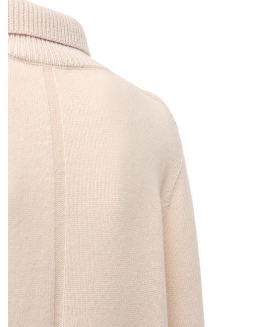 The Row ウール&カシミアタートルネックセーター Natural