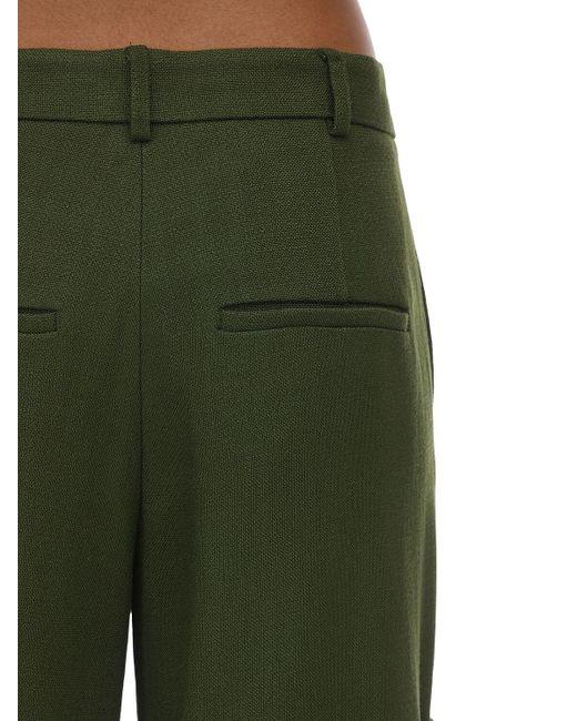 Jacquemus キャンバス ワイドレッグパンツ Green