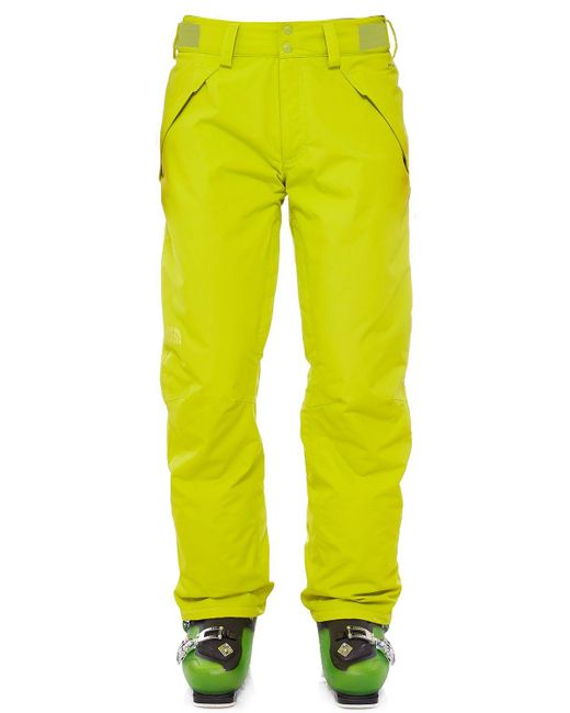 The North Face | Yellow Presena Insulated Nylon Ski Pants | Lyst