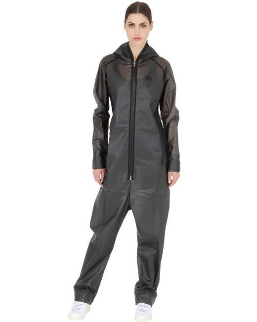 Onepiece Waterproof Rain Jumpsuit In Black Lyst