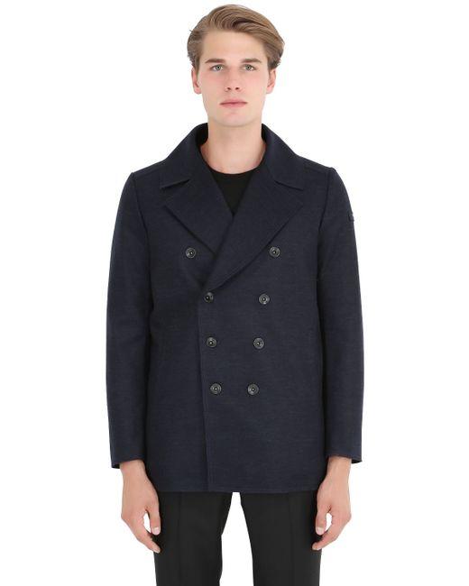Tatras | Blue Atelier Cavaione Wool Blend Jacket | Lyst
