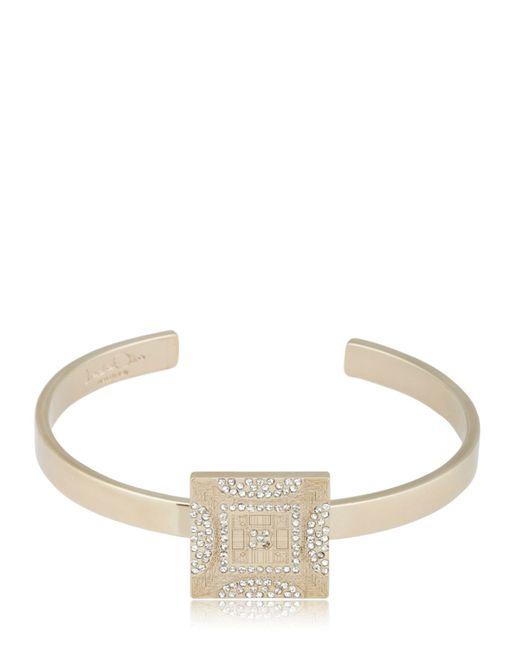 Ledaotto | Metallic Tour Eiffel Bracelet | Lyst