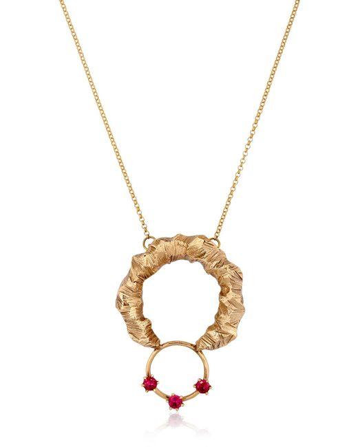 Voodoo Jewels | Metallic Desertica Lut Huge Horn Necklace | Lyst