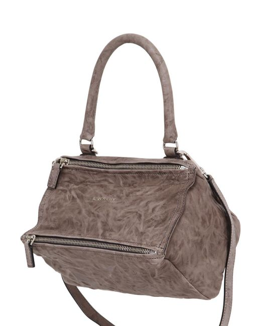 Givenchy | Brown Small Pandora Washed Leather Bag | Lyst