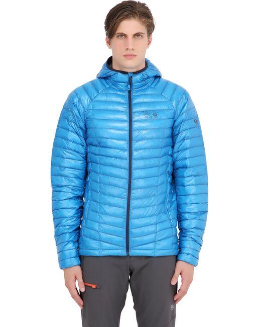 Mountain Hardwear | Blue Ghost Whisperer Hooded Down Jacket for Men | Lyst