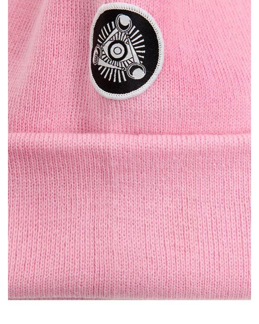 Bad Kitty embellished beanie with cat ears - Pink & Purple Silver Spoon Attire TAicGFIy