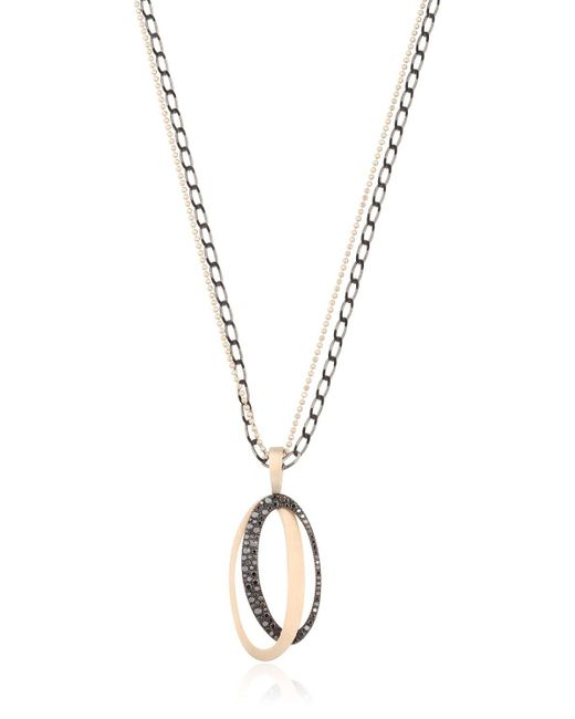 Antonini | Black & White Necklace | Lyst