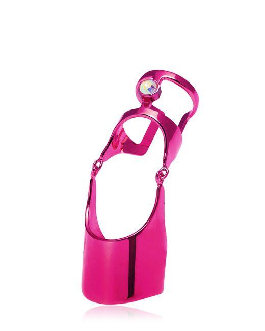 Maria Francesca Pepe | Purple Techno Core Ring for Men | Lyst